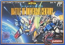 NES  Famicom SD Gundam World Gachapon Senshi 5 Battle of Universal Century JAPAN
