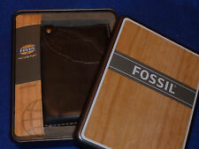 FOSSIL ML282688201 burton PORTE MONNAIE en CUIR TASCHEN bag LEDER leather wallet