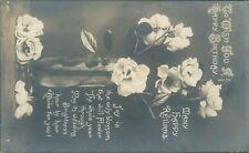 Birthday floral rotary 1914