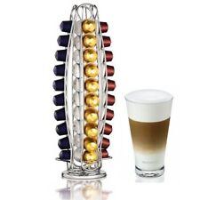 TOP Home Treats Nespresso Coffee Capsule Stand. Rotating 40 Pod Holder UK ship