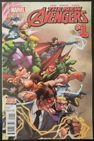 The NEW AVENGERS #1 (2015 MARVEL Comics) ~ VF/NM Comic Book