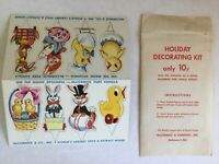 RARE McCormick Spice Co Easter Decorating Kit - Paper Trims - Unused Advertising