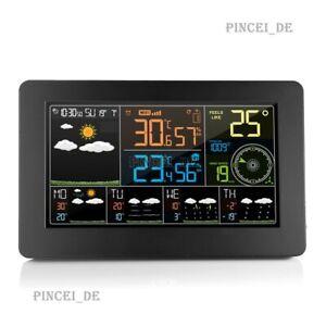 FanJu FJW4 Wifi Weather Station Weather Clock Wind Speed Paring Mode Temperature