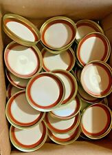 LOT OF 24 Mason Jar WIDE MOUTH LIDS and BANDS   24 of each  Unbranded NWOT 48PCS