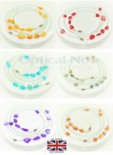 Sunglasses Eye Glasses Chain Holder Necklace Colour Stone Beads jx-d020-6c - No1
