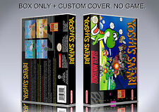 YOSHI'S SAFARI. Box/Case. Super Nintendo. BOX + COVER. (NO GAME).