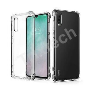 CLEAR Case For Huawei P30 Pro Lite Shockproof Bumper Corners Silicone Gel Cover
