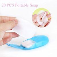 Equipment Sterilization Soap Soap Paper Travel Portable Soap Flakes Rich Foam