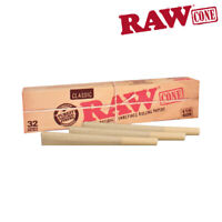 RAW PRE-ROLLED CONE 1 1/4 – 32/PACK