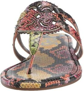 Circus by Sam Edelman Womens Canyon Saddle Sandals Size 7.5 SNAKE MULTI COLORS