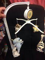 Jungle Safari Baby Crib Nursery Musical Mobile