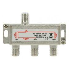 Sat F-Splitter 3fach Antennenverteiler Splitter Antennen Verteiler 3 fach Sat