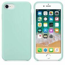 Funda silicona iphone 7/8 textura suave  Verde claro - G