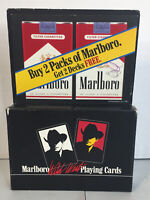 Marlboro Wild West Playing Cards 2 Decks Cigarette Advertising Country Sealed