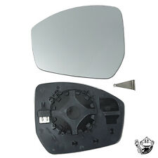 fits RANGE ROVER EVOQUE PASSENGER SIDE (LEFT) WING MIRROR GLASS HEATED 2014-2018