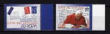 Vatikan CEPT 2008 Briefe Europa Nr. 1601 - 1602 ** MNH