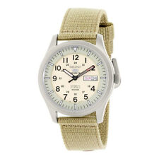 Seiko Beige Mens  Casual 5 Sports SNZG07J1