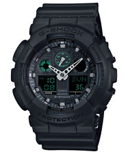 Casio G-Shock Mens Wrist Watch GA100MB-1A GA-100MB-1A Digital-Analogue Black New