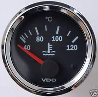 VDO Chrom Kühlwassertemperaturanzeige