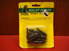 """12 - 11/32"""" /125 Grain Satellite Archery Bullet Points / Made in USA"""