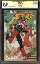 Flash #47 Harley Quinn Poly-Bag Variant CGC 9.8 SS Signed Terry & Rachel Dodson
