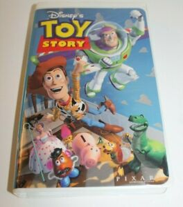 Walt Disney's Pixar Toy Story 1 VHS 6703 Movie ISBN 0-7888-0337-9 Tom Hanks 1995