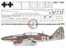 Peddinghaus 1/72 Me 262 B-1a Markings Blohm + Voss ISS 1/KG 54 Hamburg 1944 1918