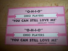 """2 Ohio Players O-H-I-O / You Can Still Love Me Jukebox Title Strips Cd 7"""" 45Rpm"""