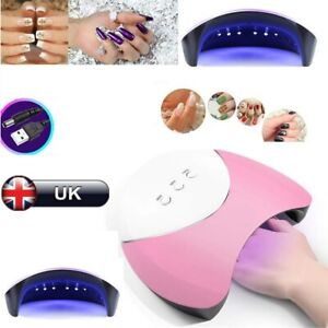 Pro 36W LED Light UV Lamp Nail Dryer Art Gel Curing Gelish Timer Auto-sensing UK