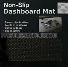 Black Grey Dragon Logo Mesh Fabric Style Car Seat Covers Set +Non-Slip Mat dashb