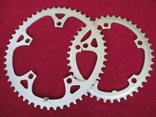 Vintage Shimano BIOPACE Road Chainring Set with 52/42T with 130mm BCD