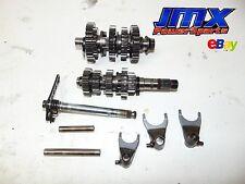 2006 Honda CRF250R, CRF 250R, Transmission, gears, main shaft, trans, tranny,