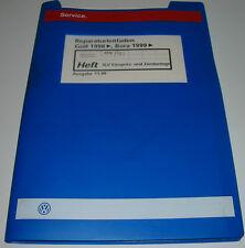 Werkstatthandbuch VW Golf 4 IV Typ 1J Bora 4 LV Einspritzanlage Zündanlage ATN