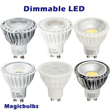 Bombillas LED GU10 5/7W Foco regulable COB SMD Lámpara Cool/Day light /Warm Ligh