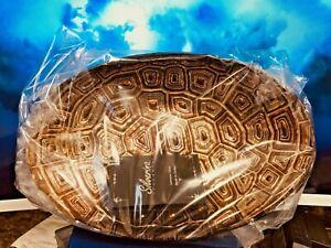 Akcam Handmade Glass Bowls Tortoise Shell Design Set of 4~ for Salad, Candy ETC