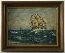 Original Nautical Ship Painting by David Maitland McKenzie (1800 - 1875)
