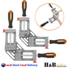 Heavy Duty 2X90° Corner Clamp Welding Vice Woodworking Alloy Body Quick Release