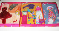 Fashion Avenue NRFB Set Of 3 Barbie Fashion Avenue Mix 'n Match Magenta Moods