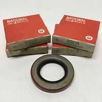"""Lot of 4 National 473214 Nitrile Oil Shaft Seal 1.375"""" Bore x 2.25""""OD x 0.3125""""W"""