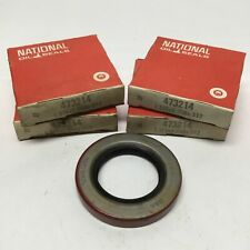 "Lot of 4 National 473214 Nitrile Oil Shaft Seal 1.375"" Bore x 2.25""OD x 0.3125""W"