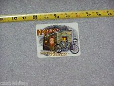 HARLEY DAVIDSON Vintage FIRST FACTORY Shop Motorcycle Bike Outside Decal Sticker