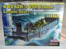 1:48 Hobby Boss #84817  WW2 LCM USN Vehicle Landing Craft KIT MIB