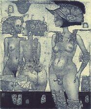 Exlibris HERMAPHRODITUS by Konstantin Antioukhin Original Signed Limited