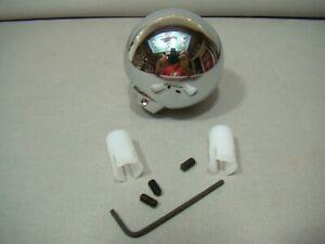 chrome ball shifter knob round shifter handle chrome shifter custom shifter ball