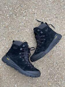 """Danner Arctic 600 Size Zip 7"""" Boots US 10.5 D Men's Black Hiking Trail 67331"""