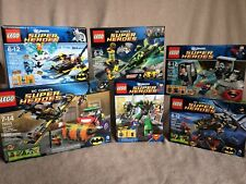 6 Lego DC Super Heroes Sets Batgirl Huge LOT 76013 76011 76000 76089 76025 6862