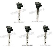 For Volkswagen Beetle Jetta Set of 5 Ignition Coils BREMI/STI 07K 905 715 F
