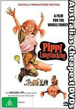 Pippi Longstocking DVD NEW, FREE POSTAGE WITHIN AUSTRALIA REGION ALL