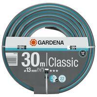 "Gardena Classic Garden Hose Pipe 13mm (1/2"") - 30m, UV Resistant/22 Bar Pressure"