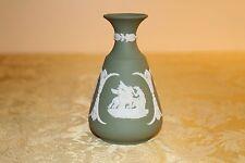Vintage Wedgwood Sage Green Jasper Ware Muses Watering Pegasus Bud Vase